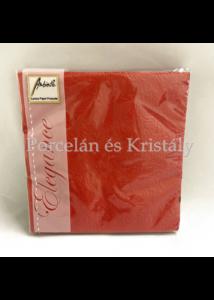 AMB.12505515 Elegance red bright papírszalvéta 25x25cm, 15db-os