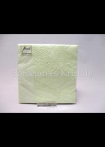 AMB.12506922 Elegance pearl green papírszalvéta 25x25 cm, 15db-os