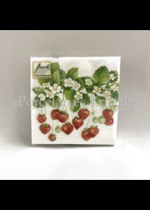 AMB.12508205 Summer Fruits papírszalvéta 25x25cm, 20db-os