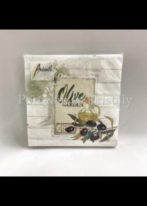 AMB.12512950 Olive Garden papírszalvéta 25x25cm, 20db-os