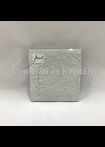 AMB.13304938 Elegance silver papírszalvéta 33x33cm, 15db-os