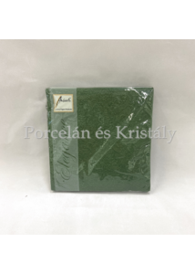 AMB.13304939 Elegance dark green papírszalvéta 33x33cm, 15db-os