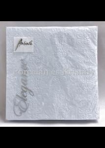 AMB.13305508 Elegance light blue papírszalvéta 33x33cm, 15db-os