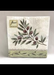 AMB.13306730 Olive Branch papírszalvéta 33x33cm, 20db-os