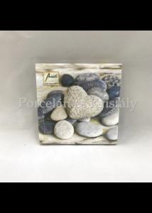 AMB.13309225 Pebbles papírszalvéta 33x33cm, 20db-os