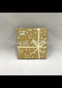 AMB.13309558 Wrapping Gold Pos. papírszalvéta 33x33cm, 20db-os