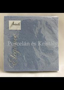 AMB.13311111 Elegance jeans blue dombornyomott papírszalvéta 33x33cm, 15db-os