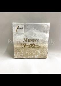 AMB.32511935 X-Mas Atmosphere karácsonyi papírszalvéta 25x25cm, 20db-os