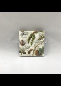 AMB.32513430 Life In Forest papírszalvéta 25x25cm, 20db-os