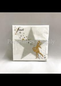 AMB.32513830 Make a Wish karácsonyi papírszalvéta 25x25cm, 20db-os
