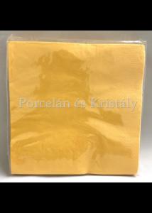 VRP-NAPSÁRGA papírszalvéta 33x33cm, 15 db-os