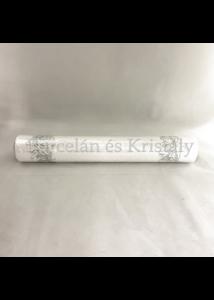 AMB.33603921 Heaven Sent silver karácsonyi papír asztalifutó 33x600cm