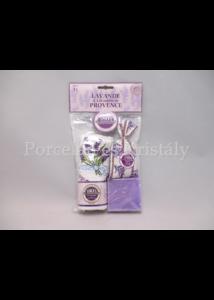 L.C.LDEC05 Szett: Levendula illatú ajándék szett, 3 részes