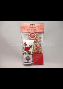 L.C.FRC05 Piros gyümölcs illatú ajándék szett 3 részes