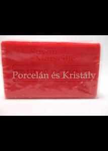 L.C.SAVR100-021 Piros Gyümölcs illatú szappan, 100 gramm