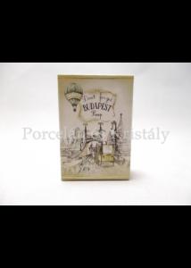 T.L.M. Bazsarózsa illatú szappan, Villamos mintával, 40 gramm