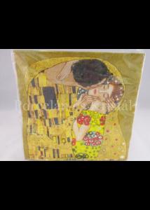 D.DO-A27KK Papírszalvéta Klimt: Csók, 33x33 cm