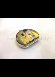 FRI.12346 Nagyítós piperetükör Klimt: Csók, 2x7,5x7 cm