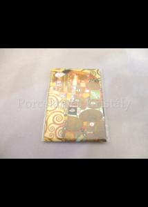 FRI.18315 Hűtőmágnes Klimt: Beteljesülés, 8x5,5 cm