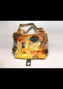 FRI.40516 Táska a táskában cipzáras, Klimt: Csók, 52x39x13,5 cm