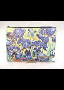 H.C.021-4805 Neszesszer Van Gogh: Íriszek, 15x21x1 cm