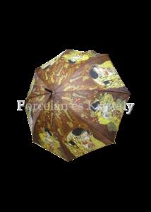 H.C.021-6504 Esernyő Klimt: Adél-Csók, barna 100 cm