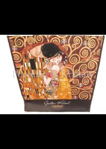 H.C.021-9000 Kétoldalas válltáska Klimt: Csók és Adél, 38x46x11 cm
