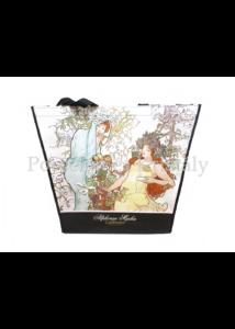 H.C.021-9010 Kétoldalas válltáska Monet: Évszakok, 38x46x11 cm