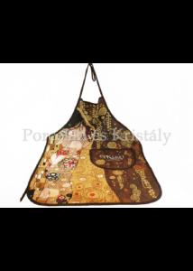 H.C.023-6001 Kötény, Klimt: Csók 77x59 cm