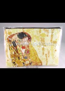 H.C.532-9086 Neszesszer Klimt: Csók, 18,5x25,5x1 cm