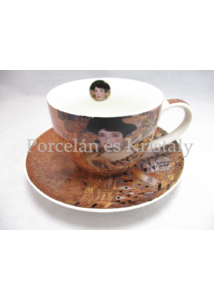 D.G.19766 Porceláncsésze+alj 450 ml, Klimt: Adél