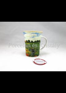 H.C.045-8103 Porcelánbögre 350 ml, Monet: Pipacsvirágzás