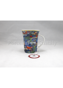 H.C.045-8104 Porcelánbögre 350 ml, Monet: Vízililiomok