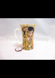 H.C.532-0701 Porcelánbögre 600 ml, Klimt: Csók