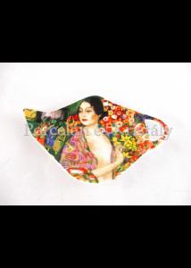 H.C.532-1417 Porcelán teafiltertartó 1x12,5x8 cm, Klimt: A táncos