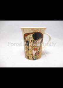 H.C.532-8111 Porcelánbögre 350 ml, Klimt: Csók