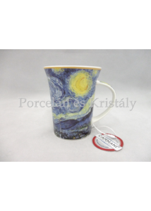 H.C.830-8115 Porcelánbögre 350 ml, Van Gogh: Csillagos éj