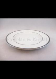9100/3384 Csemegetányér fehér-platina, 2x20,5 cm