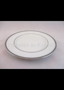 9100/3384 Zsúrtányér fehér-platina, 1,8x17,7 cm