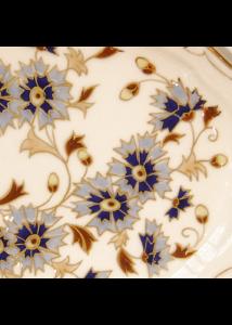 871/2/059 Váza búzavirágos, 27x12 cm