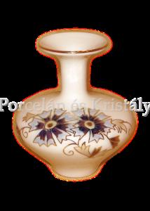 10052/059 Váza búzavirágos, 8x7 cm