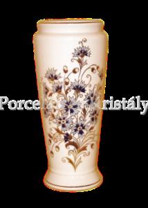 10490/3/059 Váza búzavirágos, 29x13 cm