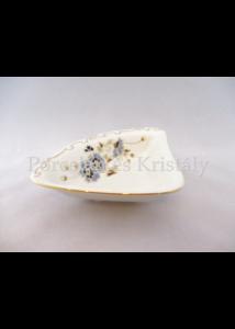 9335/059 Kínálótál búzavirágos, 4x19,5x14,3 cm