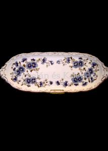 9335/059 Szendvicstál búzavirágos, 44 cm