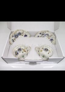 9335/059 Tea duó 4 részes búzavirágos