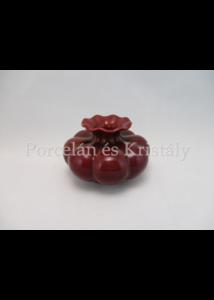 5220 Váza piros eosin, 7,5x11,5 cm