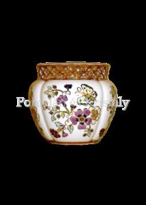 1064/3/026 Váza pillangós, 9,5x11 cm