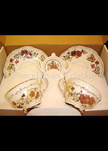 9335/026 Mini-tea 5 részes pillangós