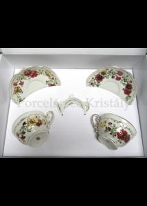 9335/026 Mini-tea szett 5 részes pillangós