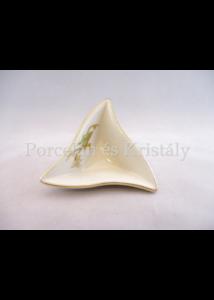 193/178 Háromszög kínálótál tavasz, 3x10x8,7 cm
